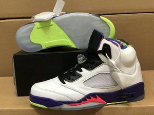 Limited Edition 5 Alternate BelAir Athletic Designer Shoes White Court Purple Racer Pink Ghost Green Fashion Chaussures Trainers Top Quality
