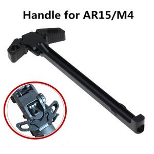 Mariposa de aluminio Despulpado máquina premium palanca de carga Negro AR metal Ambidiestro manipulación de las partes de la herramienta 223