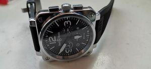 Man Glocke automatische mechanische Uhren Edelstahl-Datum ross Uhrmens Tag AQUA TERRA Uhren gfy59