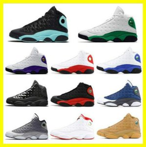 Flint basketball shoes, New Island Green 13 13s men Lucky Green Dirty bred Flint Cap and gown outdoor mens trainers sports sneakers