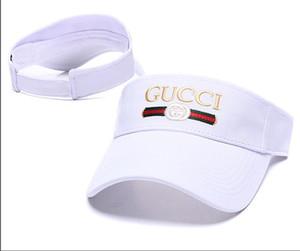 2019 nuovo cappello da golf designer visiera parasole da sole cappelli da baseball berretti sportivi cappelli da sole cappello da spiaggia cappelli elastici da spiaggia tappo superiore vuoto
