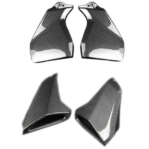 Motorcycle Carbon Fiber Gas Tank Side Tank Side Fairings Air Intake Cover for MT-09 MT 09 MT09 FZ-09 FZ09 2013-2020