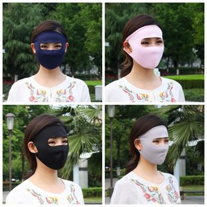 Masque de protection respiratoire Femmes crème solaire facial Earloop bouche respirateurs antipoussière Creative Design en gros 1 7HL H1