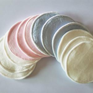 Bamboo lana cotone biologico riutilizzabile lavabile tamponi di pulizia in microfibra struccarsi struccante Beauty Tools