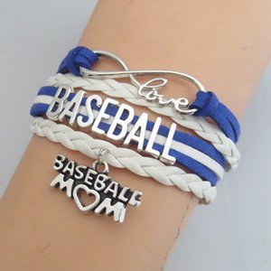 Fashion Charm Baseball Gifts Infinity Love Baseball Bracelet Fashion Girl Joyas Personalizar