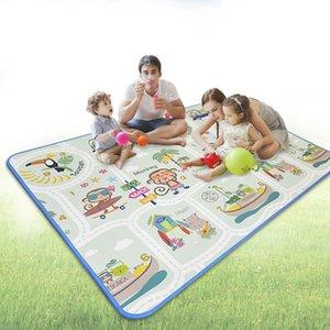 Children Crawling Pad Animal Monkey Kids Developing Mat Playmat Puzzles Waterproof Outdoor Beach Picnic Baby Play Mat