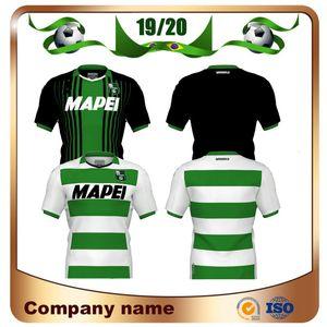 19/20 Sassuolo Calcio Futbol Formalar 2020 Sassuolo Ev Lirola PRINCE Futbol Gömlek MATRI Sernicola Deplasman Futbol forması
