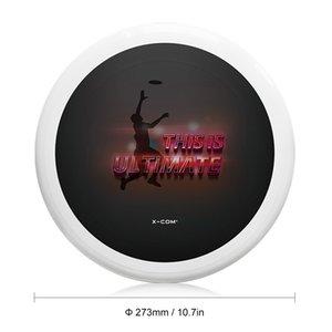 10.7Inch 175g di plastica volante dischi di superficie liscio esterno del gioco Gioca Giocattolo Sport Disco per Catch figli adulti Flying Saucer