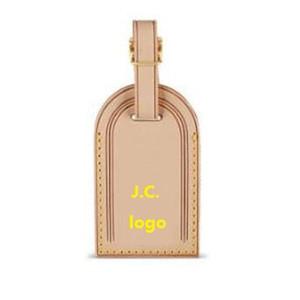 Высокое качество персонализированных пользовательских Initial багажа Тэги горячий штамп путешествия аксессуары Чемодан Tag Tag Бизнес сумка Теги загорелая кожа Путешествия