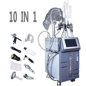 New Tech Водно-кислородная струйная терапия Увлажняющий пилинг для лица O2 Кислородный спрей для впрыска воды SPA Beauty Machine