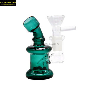 Thick Heady Bubbler Glass Bong Oil Rig Water Pipes Glass Oil Burner Pipe Water Bongs Dab Rigs Carb Cap Dab Tool Accessorie