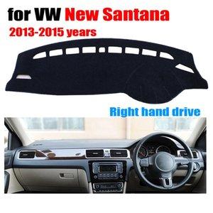 tampas do painel do carro para VW New SANTANA 2013-2015 mão direita acessórios unidade dashmat pad cover dashboard