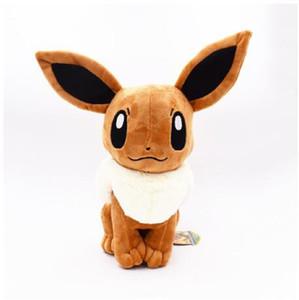 "2020 Stuffed & Plush Animals Cheap Price Free Shipping Plush Toy 12"" 30cm Big Sitting Eevee Soft Stuffed Animals Toy Gift"