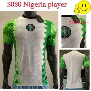 20 21 Nigeria Player version Jersey Home Soccer Shirt OSIMHEN IHEANACHO MOSES MUSA NDIDI 20 21 Maillot nigeria Football Shirt