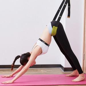 O cavalo palavra cinto flexível estiramento na perna trecho dançar soft opening cintura menor treinador cinto de formação yoga