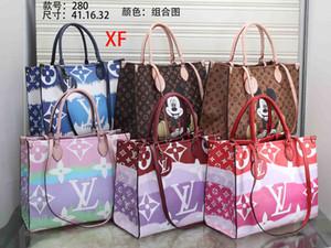 sacos das mulheres Gota senhora designer bolsas Top qualidade de moda famosa sacola mulher ocasional PU bolsa de couro bolsas bolsa de ombro F021