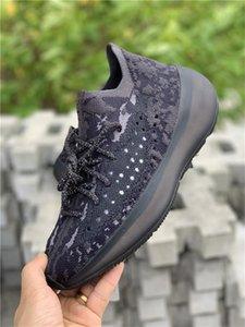 2019 Originals 380 Alien Alein белый черный FB6878 FB7876 кроссовки Мужчины Женщины Wave Runner Kanye West аутентичные повседневные кроссовки с коробкой