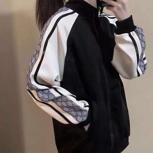 Estilo Moda Jacke Doble G carta y de Diseño Web Celebrity hombres de mujeres de la impresión de la solapa de la manga larga chaqueta de ocio al aire libre Deportes chaquetas
