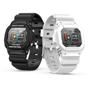 X12 relógio inteligente IP68 Waterproof Pressão Heart Rate Monitor de Sangue Pulseira natação ECG PPG Homens Mulheres Relógio de pulso Sports Watch X6 X7 W34 W54