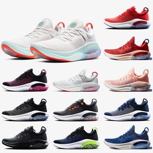Nike Joyride Run Flyknit جديد joyride تشغيل fk الاحذية NSW واضعة الأبيض الشراع أوريو ابيض كورال بلو جامعة الأحمر joyride المدى النساء الرجال المدربين رياضة
