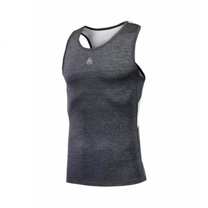 2019 verano nuevo movimiento del chaleco sin mangas velocidad Do Run ropa de entrenamiento Servir masculino marea Marca auto-cultivo Traje de Taobao
