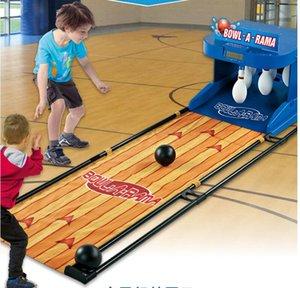 Sportmuscle Elektronik Puanlama Elektronik Bowling Çift Kapalı Üst-alt Top Oyunları Çocuk Spor Konsol Spor Ekipmanları Şişme T