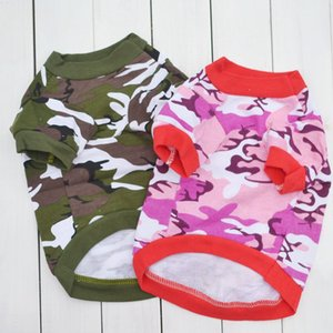 Camo Clothing For Pets Dog Waistcoat Puppy Clothes Summer Vest For Dogs Yorkshire Terrier Clothes Chihuahua Yorkshire E
