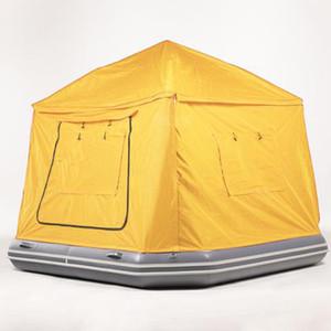 B029 Şişme Shoal Çadır Kamp Yüzer Su Çadır, çocuklar ve yetişkinler için Su Tekne Raft Çadır, Şişme Su Havuzu Çadır