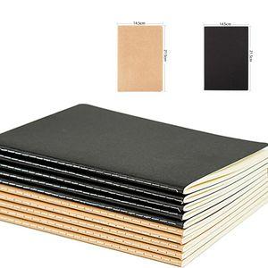دفتر يوميات (كرافت) الإبداعي الجديد A5 Kraft Paper Notebook Diary Drawing Notepad Office School Supplies
