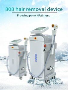 Semiconductor 808 Diode Laser Hair Removal Machine Depilazer For Whole Body Hair Removal Dermatologist Salon Use