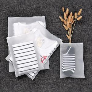 Thicken Plastic resolver Pouch translúcido impermeável selar Bag retângulo de viagem sacos de armazenamento New Arrival