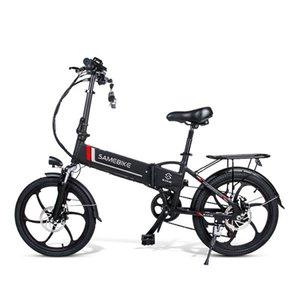 2020All-en-uno carretera bicicleta de montaña fuera de carretera absorción de choque de carreras de 20 pulgadas de la batería de litio de montaña vehículo eléctrico plegable bicycl eléctrico