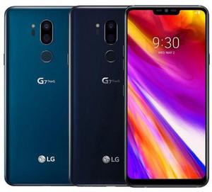 تم تجديده مفتوح LG G7 شيء becouse لاني G710n g710ulm الهاتف g710V G710Tm 64G 4G LTE أنف العجل 845 الروبوت الثماني الأساسية كاميرا خلفية مزدوجة 16MP موبايل