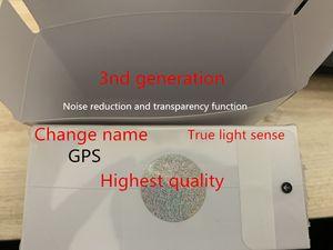 Maior Air Gen 3 AP3 H1 Chip Transparência do metal Dobradiça de carregamento sem fio Bluetooth Headphones pk Pods 2 AP Pro AP2 W1 Earbuds 2ª Geração
