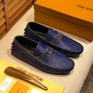 The New Purely handmade Genuine Cow Leather shoe men loafer sapato social formal wedding shoes man dress cheap office loafers