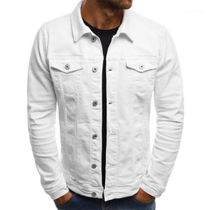 Jackets Solid Color Denim Cowboy Shirts Male Female Winter Thin Jacket Casual Coat Mens Designer Vintage