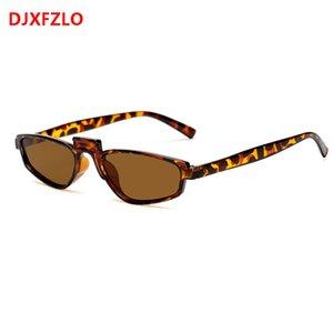 DJXFZLO 2020 vintage small square frame Best selling trend sunglasses women brand designer retro boutique glasses