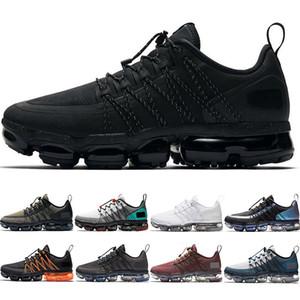 Executar o utilitário Homens Mulheres Running Shoes Triplo Preto Laser Fuchsia Médio Olive Burgundy esmagamento CNY Discount designer de instrutor desportivo Sneakers