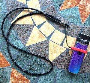 Vape Band O Yüzükler ile PU Kordon Silikon Kolye nape novo sıfır minyatür için vape band Dize
