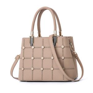 PU Leather Handbag Crossbody Satchel Bag Fashion Versatile Satchel Multi-Function Bag Top Handle Shoulder Bag