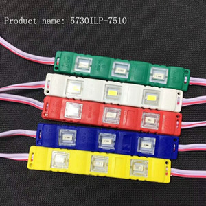 Waterproof IP65 5730 SMD 3 LED Module Injection Molding Light Strip Lamp Warm White Cold White DC12V