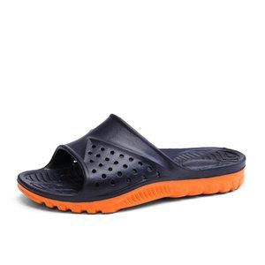 2019 Amazon wish large crossborder popular sandals EVA bathroom home slippers custom one hair