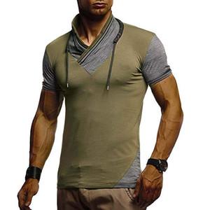 Été Homme manches courtes Hauts Casual élégant T-shirts Vêtements Designer Hommes T-shirts