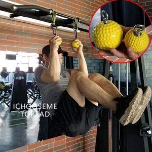 Pull-up Power Ball polso Formazione sfera della presa di braccio di addestramento e posteriore Muscle Pull Forza Rafforzare resistenti palline e antiscivolo Grip F