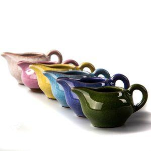 Çin Çaydanlık YIXING Kupası Fair Kupası Vintage Kung Fu Çay Seti El Yapımı Çay Bardaklar Ev Isı Direnci Seramik Çay Servisi