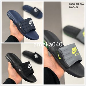 "2020ss new NIKE Air max 90 Camden Slide ""Anthracite / Grey / Volt"" Camden 90 slides series leisure sports beach maxse slippers BQ4626air002"