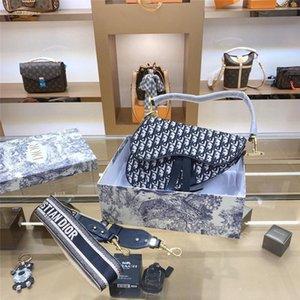 twill toile jacquard mode de luxe de haute qualitétendance ins fourre-tout sac à bandoulière Designer sac de selle partie 32CM main bayswater