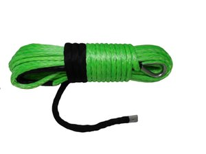 Free Shipping Green 12mm*30m Synthetic Winch Rope,ATV Winch Cable,Off Road Rope,Plasm Rope,UHMWPE Rope