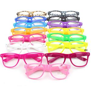 estate spiaggia donne degli uomini di vetro di Sun UV400 sport esterno di Retro liberi dell'obiettivo di occhiali da sole vintage full frame occhiali LJJA3398