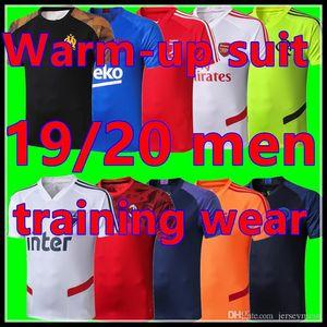 2019/2020 giocatori stagione del club di warm-up del pullover sportivo apparenze 2019/2020 atleti pre-partita Pullover di sport